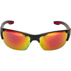 UVEX blaze lll Cykelbriller, black red